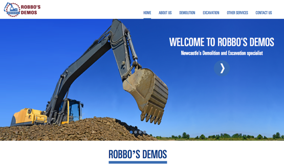 Robbos Demos website