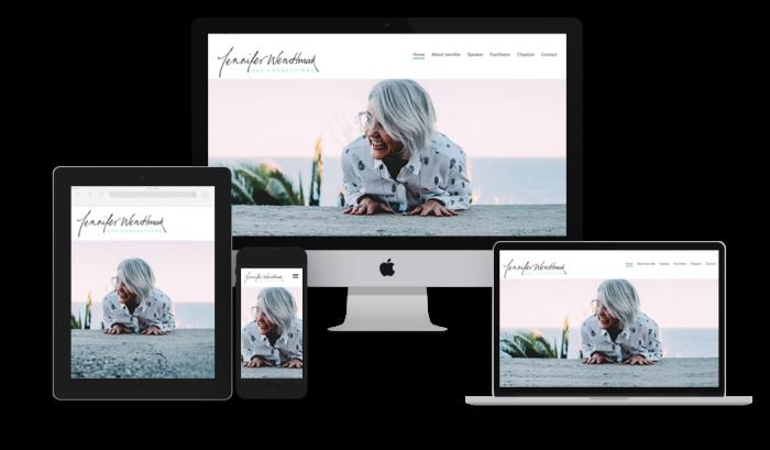 Jennifer Wendtman responsive website examples