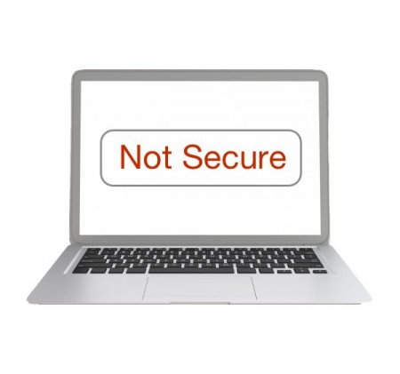 Why is my website showing as Not Secure? SSL and website security..
