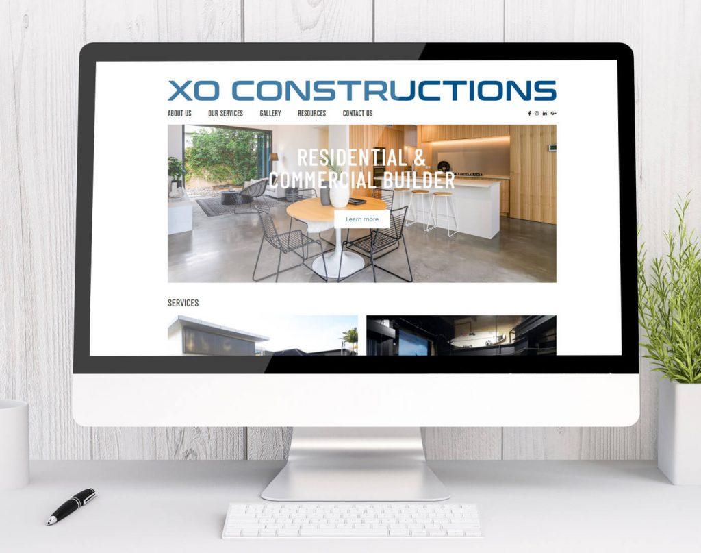 Website design Newcastle - XO Constructions