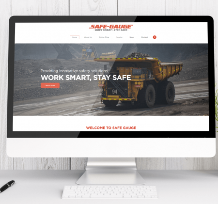 Our Latest Web Development Project – Safe Gauge
